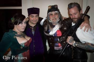 Dani, David, Montague and Charlie